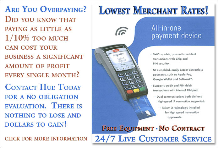 Contact Today for Lowest Merchant Rates